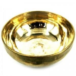Поющая чаша ручная ковка 9 металлов, 24 см