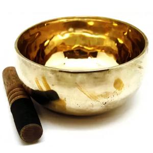 Поющая чаша ручная ковка лечебная 9 металлов, 14 см