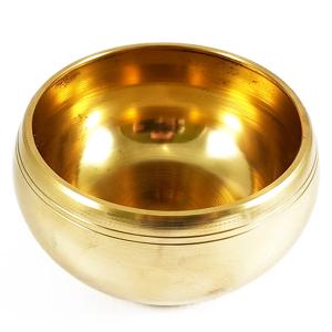 Поющая чаша литая для настройки чакр сплав 7 металлов, 15 см