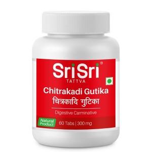 Читракади гутика Шри Шри Таттва (Chitrakadi Gutika Sri Sri Tattva), 60 таблеток