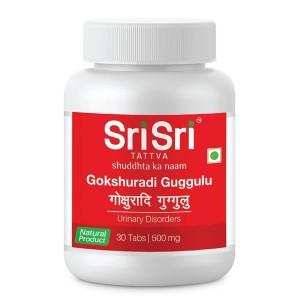 Гокшуради Гуггул Шри Шри Таттва (Gokshuradi Guggulu Sri Sri Tattva), 30 таблеток