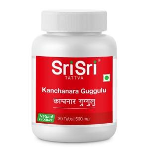 Канчанар гуггулу Шри Шри Таттва (Kanchanara guggulu Sri Sri Tattva), 30 таблеток