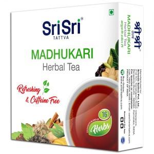 Травяной аюрведический чай Мадхукари Шри Шри Таттва (Madhukari Sri Sri Tattva), 100 грамм