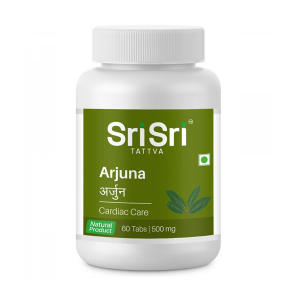 Арджуна Шри Шри Аюрведа (Arjuna Sri Sri Ayurveda), 60 таблеток