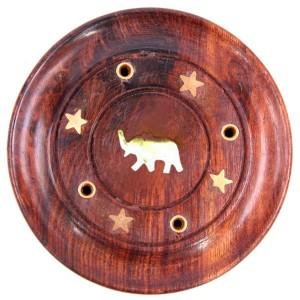 подставка для благовоний Слон, диаметр 90 мм