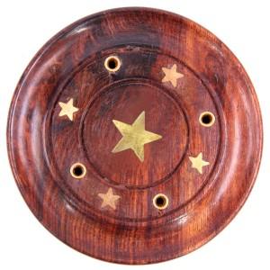подставка для благовоний Звезда, диаметр 90 мм
