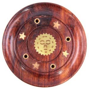 подставка для благовоний Солнце, диаметр 90 мм