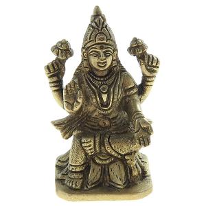 статуэтка Лакшми, латунь 8 см