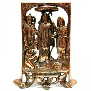 статуэтка Рама, Сита, Лакшмана и Хануман, 25 см
