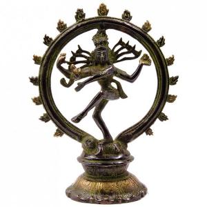статуэтка Шива Натарадж, бронза 20 см
