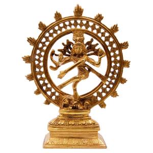 статуэтка Шива Натарадж, бронза 21 см