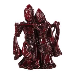 статуэтка Радха и Кришна полистоун, 12 см