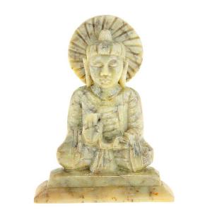 статуя из камня Будда Абхая-мудра, 10 см