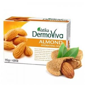 увлажняющее мыло Миндаль Ватика (Almond Vatika), 115 грамм