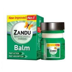 болеутоляющий бальзам Занду Балм (Zandu Balm), 8 мл.
