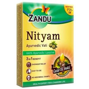 Нитьям Занду (Nityam Tablet Zandu), 10 таблеток